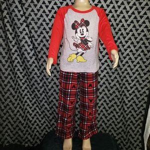 Disney Minnie Mouse 2 pc pajama set